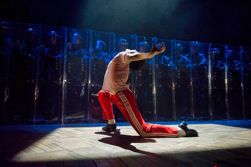 'Billy Elliot' Musical performed at the AFAS Circustheater, Scheveningen, Holland