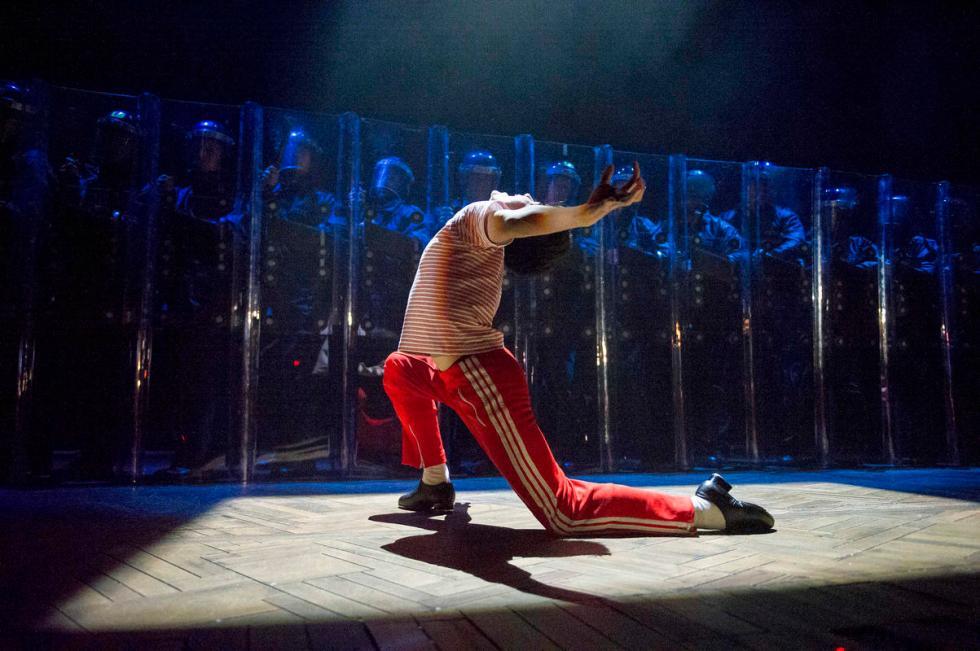 'Billy Elliot' Musical performed at the AFAS Circustheater, Scheveningen, Holland