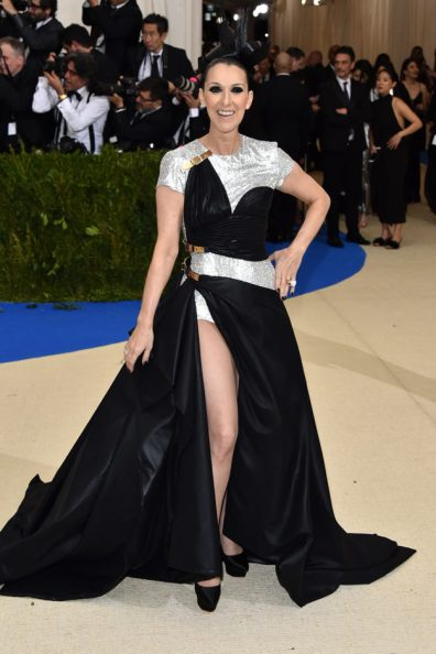 """NEW YORK, NY - MAY 01: Singer Celine Dion attends """"Rei Kawakubo/Comme des Garcons: Art Of The In-Between"""" Costume Institute Gala at Metropolitan Museum of Art on May 1, 2017 in New York City. (Photo by John Shearer/Getty Images)"""